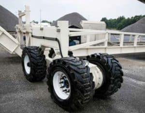 Superior TeleStacker Conveyor Pit Portable Axle